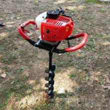 汽油式挖坑机 手提式挖坑机 拖拉机牵引的大直径打洞机