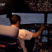 PD FL35光源LED投影机飞行模拟仿真专用投影机正投