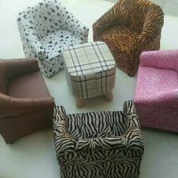 厂家直销新款儿童沙发小孩座椅赠品防水皮革迷你沙发