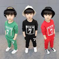 广东童装套装批发市场 小猪佩奇超人蜘蛛侠时尚潮流儿童套装批发