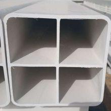 格栅管 四孔九孔格栅管 PVC方管 塑料格栅穿线管