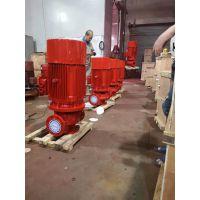 工程泵房采用卧式恒压切线泵XBD6/20-HY消防泵制造厂家报价/泵房喷淋泵流量调试
