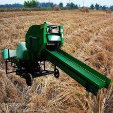 用庞泰打捆包膜机不愁农作物秸秆无处处理