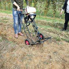 拖拉机带动挖坑机价格 便携式打孔机 柴油挖坑机厂家