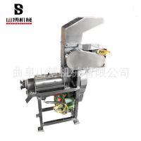 苹果葡萄鲜榨机 小型不锈钢螺旋破碎榨汁机 水果压榨机价格优惠