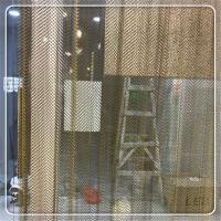 供应乾卓不锈钢金属网帷幕 吊顶装饰金属帷幕网 金属帷幕帘
