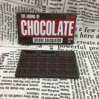 韩版创意造型巧克力计算机太阳能计算机逼真食物计算机 方便携带