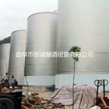 厂家现场 生产白酒罐群 密封储罐 来料加工 304不锈钢储罐