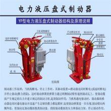 推动器示意图Ed-80/12电力液压推动器三相交流电机