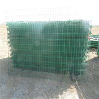 厂家直销果园双边丝护栏网 河南工地建筑包塑养殖护栏网 高速公路隔离防护网