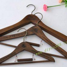 批发木衣架厂家直销木衣架爆款成人儿童套装木质衣裤架