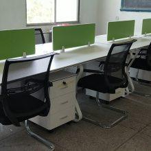 洛阳办公桌厂家 工位桌老板桌员工屏风位办公桌钢架组合桌