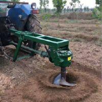 围栏立柱钻眼机 小直径在杆打窝机 农用手提挖坑机