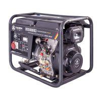 德国萨登5千瓦220V静音柴油发电机380V商场银行应急供电