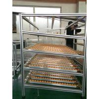 厂家批发定制工业铝型材物流周转架 货架 汽车零部件物料周转架