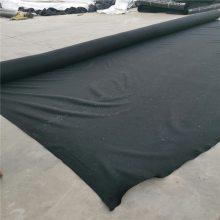 400克黑色土工布 涤纶短纤土工合成材料