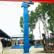 益阳市5米高垂直单斗提升机_多功能干辣椒板链钢斗提升机制造商