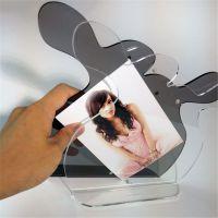 亚克力相框批发 定制影楼婚纱照相框 桌面摆饰艺术照相框