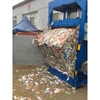 驻马店半自动废纸液压打包机 自行车框架废物处理压扁机 金亿机械支持定做
