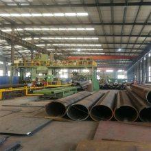 四川成都钢管柱 q345厚壁焊管 建筑工程立柱 广告牌用钢板卷管 厂家直销