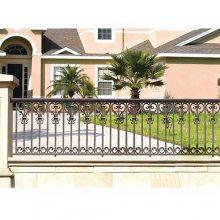 铝护栏品牌 别墅铝护栏生产 昊华 庭院铝护栏销售