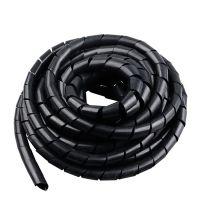 PE塑料黑色缠绕管束线软管电线保护整理收纳集线管
