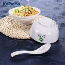 a5密胺仿瓷碗酒店火锅塑料饭店餐具白色饭碗汤碗小碗调料碗logo