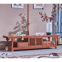 厂家直销红木家具2米电视柜 刺猬紫檀 款式新颖名琢世品牌