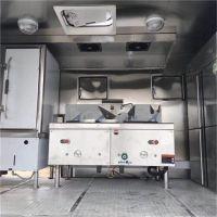 解放国六移动家宴酒席餐车农村一条龙包席做饭餐饮车