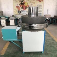 定做家用石磨面粉机 220V杂粮面粉石磨机 商用绿砂岩磨粉机