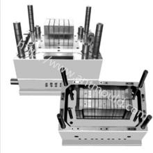 三节五号电池外壳模具制造 电池盒开模加工 电动车汽车三轮车电池盒电瓶盒模具专业制造厂家可代注塑生产
