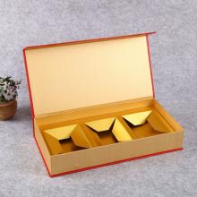 深圳红酒精装盒定做,双支装书型精品盒定制,福田茶叶精装盒设计定做