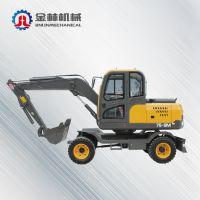 85轮式挖掘机金林产地货源挖掘机
