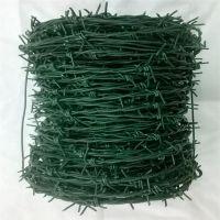 刺绳怎么算 刺丝施工规范 铁蒺藜安装