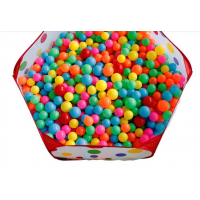 重庆朔行加厚环保海洋球批发 5.5cm-8cm儿童百万球池彩色波波球可定制