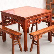 老榆木实木餐桌椅与其它实木餐桌椅如何选择