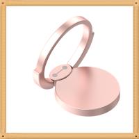 小白 手机指环扣 私膜专利 苹果7Plus卡扣粘贴式金属6s通用 创意 手机支架