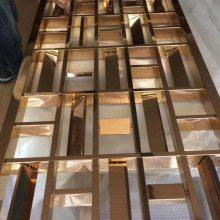 北京订制酒店屏风隔断金属装饰专业快速