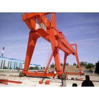 山东鲁起供应上海电动葫芦单梁门式起重机 10吨花架龙门吊