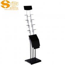 专业生产SITTY斯迪99.5900黑牡丹资料架/金属书报架/报刊架