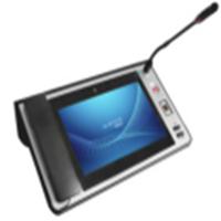 10.1寸桌面式IP话筒带可视对讲BSVP-308网络音箱