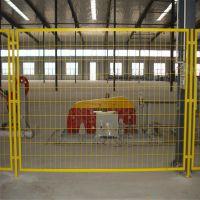 黄色车间隔离 隔离防护网 万泰护栏网