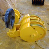 3.2吨铸钢滑轮吊钩组 钢丝绳吊钩组 电动旋转钩