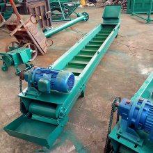 煤矿碳刮板输送机 双环链链板输送机 沙子碎石刮板机定做