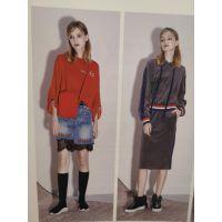 杭州艾利欧货源批发品牌折扣女装库存新款货源库存多种款式多种风格