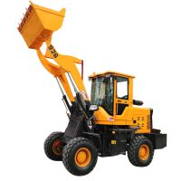 多功能轮式小铲车配置直销2吨小型抓木机工厂ZL910抓木机小型装载机