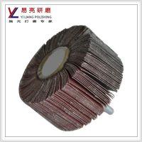 YL供应百叶磨头 带轴砂轮小磨头 小磨头 带柄千叶轮