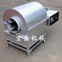小型炒瓜子机 多功能炒货机型号 30斤50斤80斤100斤花生炒锅厂家