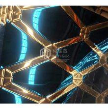 304彩色不锈钢双色装饰板 双色钛金加宝石蓝蚀刻不锈钢板销售 不锈钢电梯装饰板