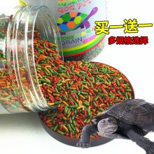 乌龟粮食生产设备工艺流程巴西龟草补钙饲料生产线半水龟通用饲料膨化机